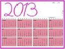 calendario hello kity