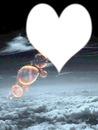 corazon en las nubes