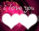 i love you 2 photos