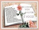 """Frase """"O livro da vida"""""""