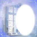 fenetre bleu romantique