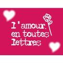 l'amour en tout lettres
