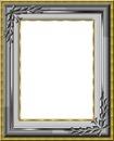 cadre gris et jaune