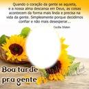 """Boa Tarde Pra Gente! By""""Maria Ribeiro!"""