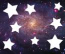 Univers aux étoiles