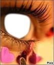 L'amour dans un regard