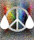 peace and love goutte