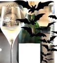 champagne et chauve souris