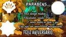 FELIZ ANIVERSÁRIO & PARABÉNS
