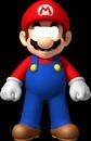 Mario wearing glasses