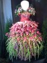 flower robe