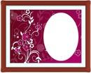oval love frame 1