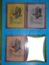 L'aigle attrapant un poisson 2 ( en plusieurs couleurs) dessiné au fusain par Gino Gibilaro