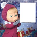 mascha en navidad
