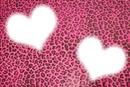 Coração de onça rosa