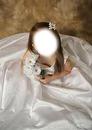 petite fille robe blanche mariée