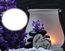 Zen-chandelle-fleurs-pierres