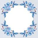 Bleu rose