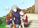 Sakura y Kakashi
