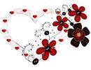 Coeur en fleur n°770