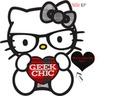 hello kitty nerd