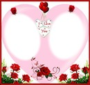 2 photos coeur amour love iena