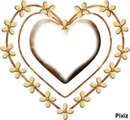 cadre coeur  gaetana
