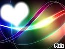 Coeur couleurs