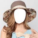 Hermosa dama con sombrero