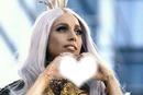 Lady Gaga coeur