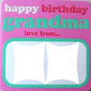 Happy B-day grandma