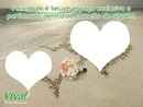 mar 2 corações