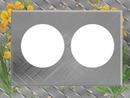 cadre gris laly