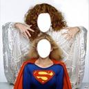 Supergirl et la méchante Krat
