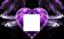 purple heart with square-hdh 2