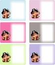 cadre 6 pirates