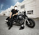 homme en moto