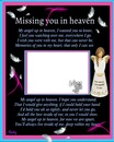 missing you in heaven