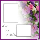 cadres mariage
