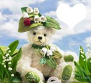 muguet coccinelle ours coeur