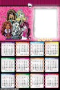 calendario de monster high