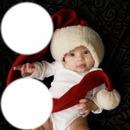 рамка Коледно Бебе