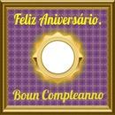 Quadro Feliz Aniversario