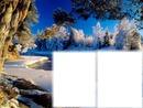 Téli táj 2 fotóval