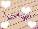 i love you <3