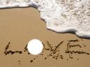 love sur la plage
