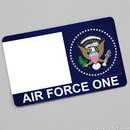 Air Force One card
