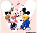 Mickey y Minie
