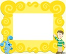 blues clues frame