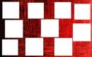 fond rouge carrée